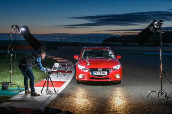 - Mazda 3 Silverstone – BTS - Jack Terry