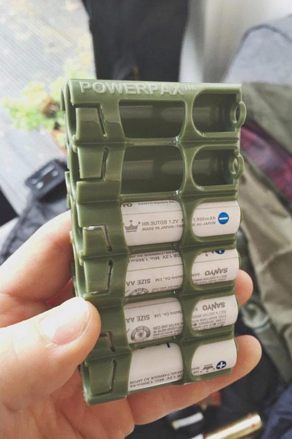 - powerpax battery holder - Jack Terry