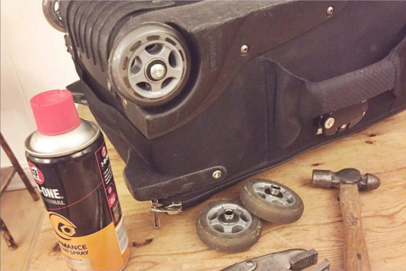- Thinktank wheel replacement - Jack Terry