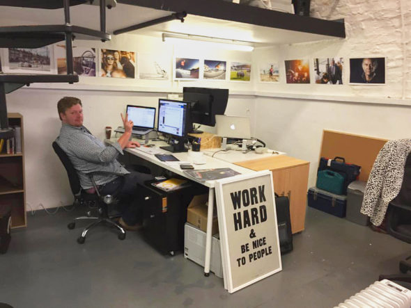 - new office - Jack Terry