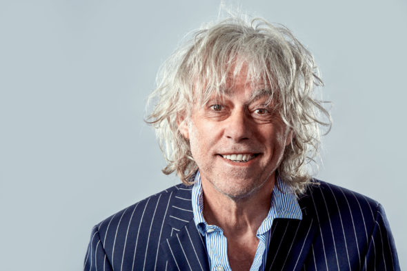 a portrait of Bob Geldof by Jack Terry, all rights reserved - A portrait of Bob Geldof - Jack Terry