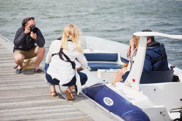 - Boat Shoot BTS - Jack Terry