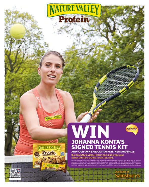 - Johanna Konta for Nature Valley - Jack Terry